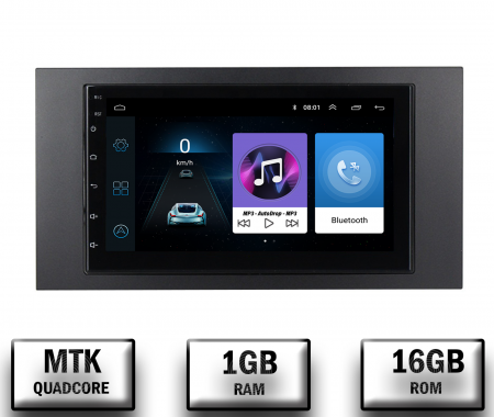 Navigatie Android Ford 2DIN 1+16GB   AutoDrop.ro [0]