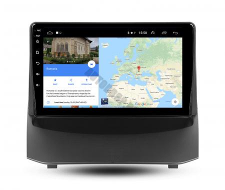 Navigatie Ford Fiesta (2009-2018), Android 9.1, QUADCORE|MTK| / 2GB RAM + 32GB ROM, 9 Inch - AD-BGPFSTMTK2GB11