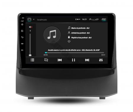 Navigatie Ford Fiesta (2009-2018), Android 9.1, QUADCORE|MTK| / 2GB RAM + 32GB ROM, 9 Inch - AD-BGPFSTMTK2GB4