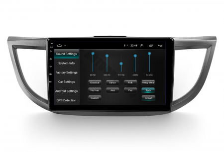 Navigatie Honda CRV (2011-2016), Android 9.1, QUADCORE MTK  / 2GB RAM + 32 ROM, 10.1 Inch - AD-BGPCRV14MTK2GB8