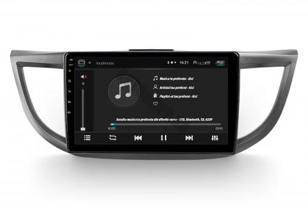 Navigatie Honda CRV (2011-2016), Android 9.1, QUADCORE MTK  / 2GB RAM + 32 ROM, 10.1 Inch - AD-BGPCRV14MTK2GB7