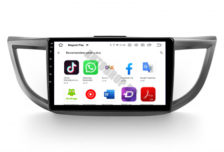 Navigatie Honda CRV (2011-2016), Android 9.1, QUADCORE MTK  / 2GB RAM + 32 ROM, 10.1 Inch - AD-BGPCRV14MTK2GB6