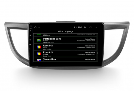 Navigatie Honda CRV (2011-2016), Android 9.1, QUADCORE MTK  / 2GB RAM + 32 ROM, 10.1 Inch - AD-BGPCRV14MTK2GB9