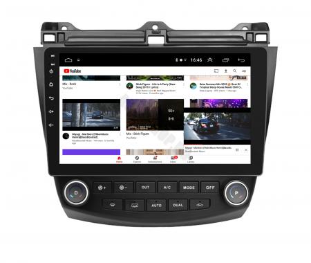 Navigatie Honda Accord 7 (2005-2008), Android 9.1, QUADCORE|MTK| / 1GB RAM + 16 ROM, 10.1 Inch - AD-BGPACCORD7MTK7