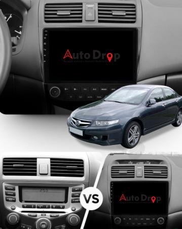 Navigatie Honda Accord 7 (2005-2008), Android 9.1, QUADCORE|MTK| / 1GB RAM + 16 ROM, 10.1 Inch - AD-BGPACCORD7MTK17