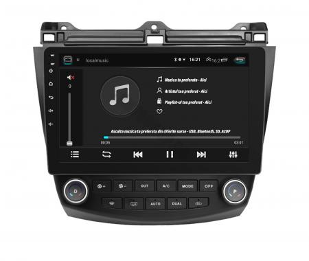 Navigatie Honda Accord 7 (2005-2008), Android 9.1, QUADCORE|MTK| / 1GB RAM + 16 ROM, 10.1 Inch - AD-BGPACCORD7MTK6