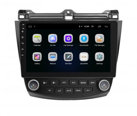 Navigatie Honda Accord 7 (2005-2008), Android 9.1, QUADCORE|MTK| / 1GB RAM + 16 ROM, 10.1 Inch - AD-BGPACCORD7MTK3
