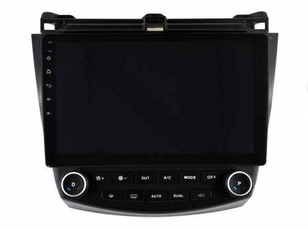 Navigatie Honda Accord 7 (2005-2008), Android 9.1, QUADCORE|MTK| / 1GB RAM + 16 ROM, 10.1 Inch - AD-BGPACCORD7MTK15