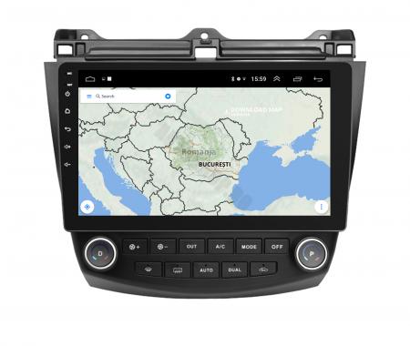Navigatie Honda Accord 7 (2005-2008), Android 9.1, QUADCORE|MTK| / 2GB RAM + 32GB ROM, 10.1 Inch - AD-BGPACCORD7MTK2GB9
