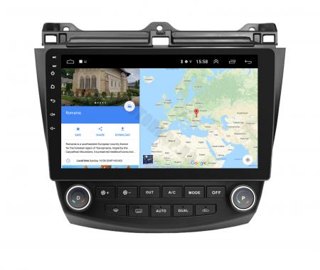 Navigatie Honda Accord 7 (2005-2008), Android 9.1, QUADCORE|MTK| / 1GB RAM + 16 ROM, 10.1 Inch - AD-BGPACCORD7MTK11