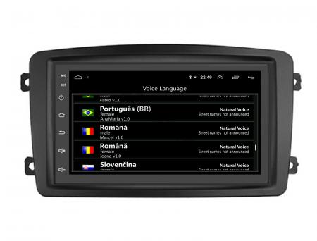 NAVIGATIE MERCEDES BENZ C-CLASS W203 / VITO / VIANO / CLK, ANDROID 9.1, QUADCORE|MTK| / 1GB RAM + 16GB ROM, 7 INCH - AD-BGWMB7MTK16