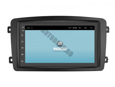 NAVIGATIE MERCEDES BENZ C-CLASS W203 / VITO / VIANO / CLK, ANDROID 9.1, QUADCORE|MTK| / 1GB RAM + 16GB ROM, 7 INCH - AD-BGWMB7MTK12