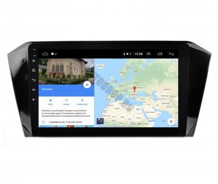 Navigatie Volkswagen Passat B8, Android 9.1, QUADCORE|MTK| / 2GB RAM + 32GB ROM, 10.1 Inch - AD-BGPVWB8MTK2GB11