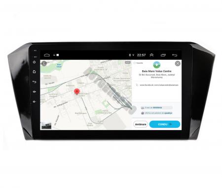 Navigatie Volkswagen Passat B8, Android 9.1, QUADCORE|MTK| / 2GB RAM + 32GB ROM, 10.1 Inch - AD-BGPVWB8MTK2GB10