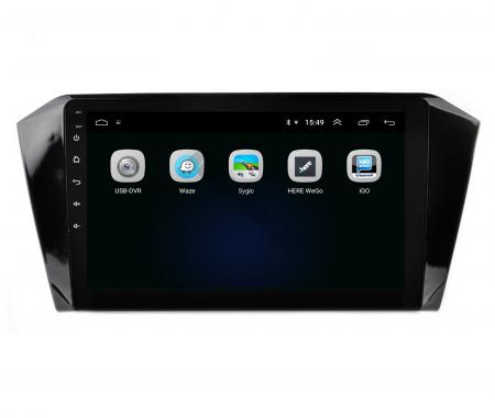 Navigatie Volkswagen Passat B8, Android 9.1, QUADCORE|MTK| / 2GB RAM + 32GB ROM, 10.1 Inch - AD-BGPVWB8MTK2GB4