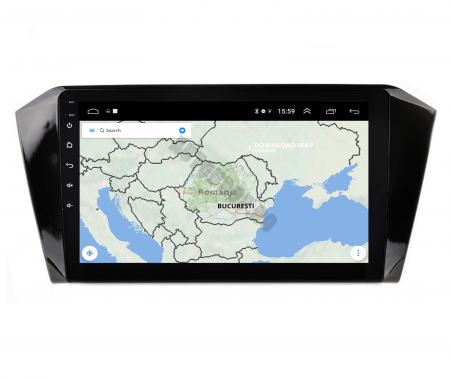 Navigatie Volkswagen Passat B8, Android 9.1, QUADCORE|MTK| / 2GB RAM + 32GB ROM, 10.1 Inch - AD-BGPVWB8MTK2GB9