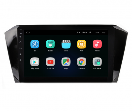 Navigatie Volkswagen Passat B8, Android 9.1, QUADCORE|MTK| / 2GB RAM + 32GB ROM, 10.1 Inch - AD-BGPVWB8MTK2GB2