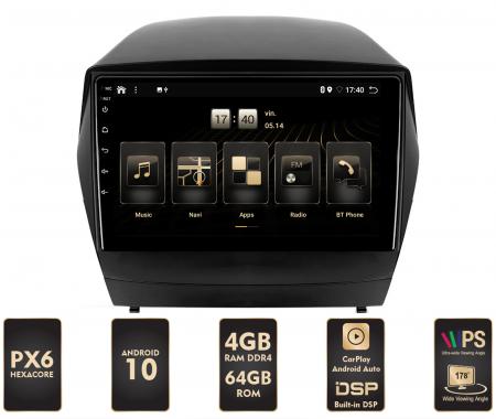 Navigatie Android 10 Hyundai IX35 PX6   AutoDrop.ro [0]