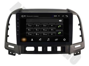NAVIGATIE Hyundai Santa Fe 2006-2012, ANDROID 9.1, QUADCORE MTK / 1GB RAM + 16GB ROM, 9 INCH - AD-BGPSANTAFEMTK1GB7