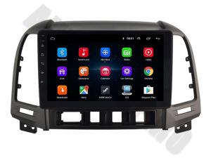 NAVIGATIE Hyundai Santa Fe 2006-2012, ANDROID 9.1, QUADCORE MTK / 1GB RAM + 16GB ROM, 9 INCH - AD-BGPSANTAFEMTK1GB2