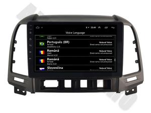 NAVIGATIE Hyundai Santa Fe 2006-2012, ANDROID 9.1, QUADCORE MTK / 1GB RAM + 16GB ROM, 9 INCH - AD-BGPSANTAFEMTK1GB12