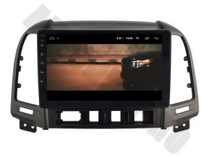 NAVIGATIE Hyundai Santa Fe 2006-2012, ANDROID 9.1, QUADCORE MTK / 1GB RAM + 16GB ROM, 9 INCH - AD-BGPSANTAFEMTK1GB13