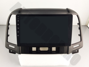 NAVIGATIE Hyundai Santa Fe 2006-2012, ANDROID 9.1, QUADCORE MTK / 1GB RAM + 16GB ROM, 9 INCH - AD-BGPSANTAFEMTK1GB17