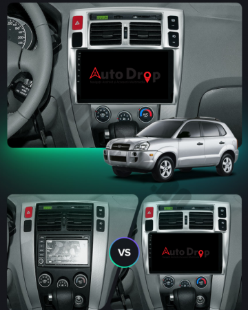 NAVIGATIE Hyundai Tucson (2004-2009), ANDROID 9.1, QUADCORE|MTK|/ 1GB RAM + 16GB ROM, 10.1 INCH - AD-BGPTUCSONMTK16