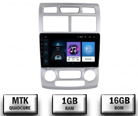 NAVIGATIE Kia Sportage (2005-2010) A/C, ANDROID 9.1, QUADCORE|MTK|/ 1GB RAM + 16GB ROM, 9 INCH - AD-BGPSAGEMTK0