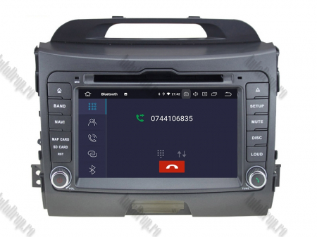 NAVIGATIE Kia Sportage 2010-2012, ANDROID 10, Quadcore|PX30|/ 2GB RAM + 16GB ROM cu DVD, 7 Inch - AD-BGWKIASA1P35