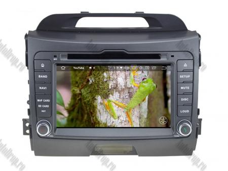 NAVIGATIE Kia Sportage 2010-2012, ANDROID 10, Octacore|PX5|/ 4GB RAM + 64GB ROM cu DVD, 7 Inch - AD-BGWKIASA1P59