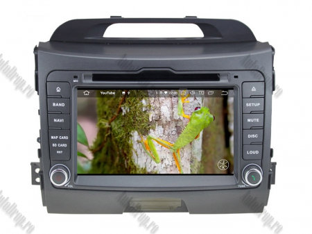 NAVIGATIE Kia Sportage 2010-2012, ANDROID 10, Quadcore|PX30|/ 2GB RAM + 16GB ROM cu DVD, 7 Inch - AD-BGWKIASA1P39