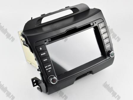 NAVIGATIE Kia Sportage 2010-2012, ANDROID 10, Quadcore|PX30|/ 2GB RAM + 16GB ROM cu DVD, 7 Inch - AD-BGWKIASA1P317