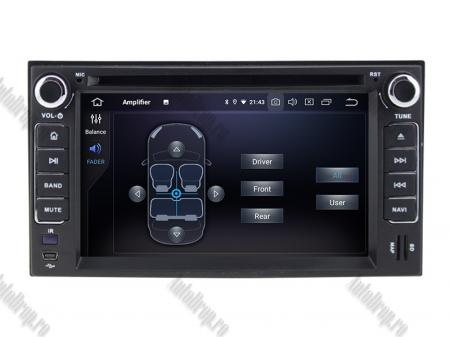NAVIGATIE Kia, ANDROID 9, Quadcore|PX30|/ 2GB RAM + 16GB ROM cu DVD, 7 Inch - AD-BGWKIAP37