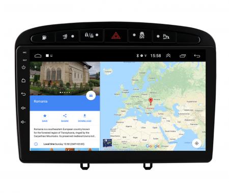 Navigatie Android Peugeot 308/408   AutoDrop.ro [11]