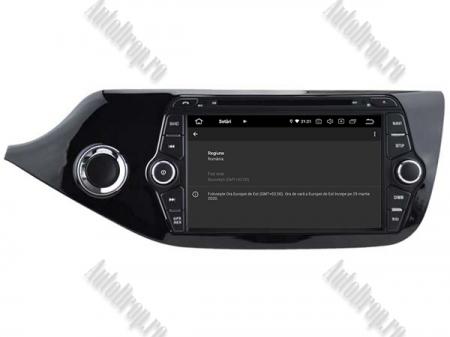 NAVIGATIE Kia CEED 2012-2013, ANDROID 9, Octacore|PX5|/ 4GB RAM + 64GB ROM cu DVD, 7 Inch - AD-BGWCEED2012P59