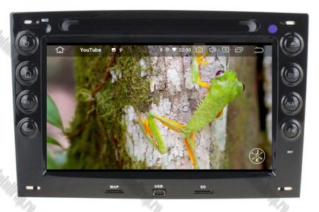 NAVIGATIE Megane 2, ANDROID 9, Quadcore|PX30|/ 2GB RAM + 16GB ROM cu DVD, 7 Inch - AD-BGWMG2P39