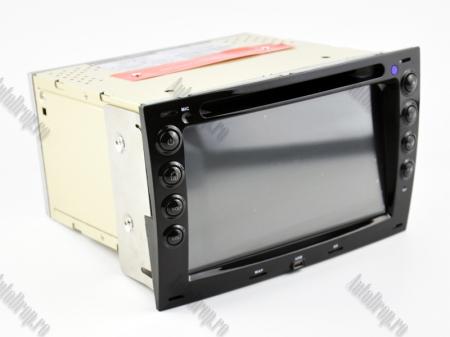 NAVIGATIE Megane 2, ANDROID 9, Quadcore|PX30|/ 2GB RAM + 16GB ROM cu DVD, 7 Inch - AD-BGWMG2P317