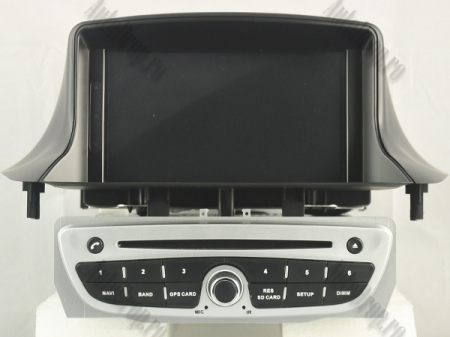 NAVIGATIE Megane 3, ANDROID 9, Quadcore|PX30|/ 2GB RAM + 16GB ROM cu DVD, 7 Inch - AD-BGWMG3P3-S17