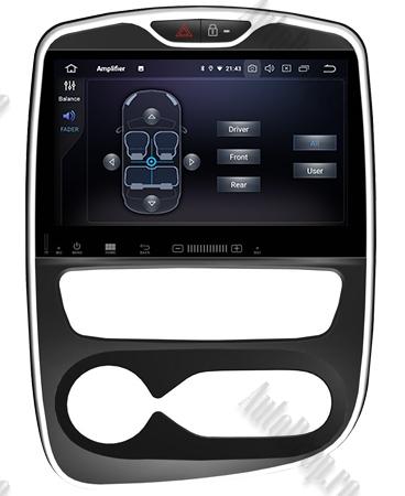 NAVIGATIE Renault Clio, ANDROID 9, Quadcore PX30 / 2GB RAM + 16GB ROM, 7 Inch - AD-BGWCLIOP37