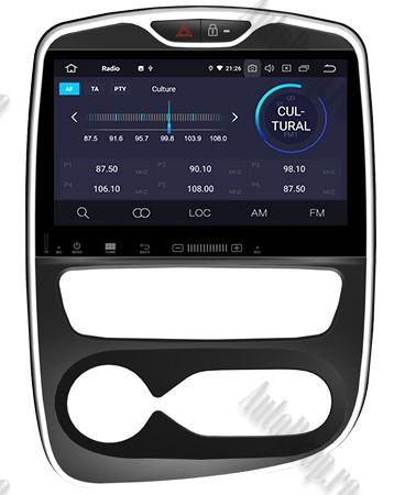 NAVIGATIE Renault Clio, ANDROID 9, Octacore|PX5|/ 4GB RAM + 64GB ROM, 7 Inch - AD-BGWCLIOP55