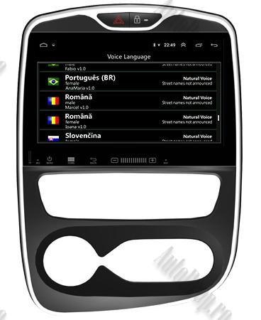 NAVIGATIE Renault Clio, ANDROID 9, Quadcore|PX30|/ 2GB RAM + 16GB ROM, 7 Inch - AD-BGWCLIOP39