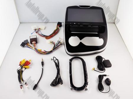 NAVIGATIE Renault Clio, ANDROID 9, Quadcore PX30 / 2GB RAM + 16GB ROM, 7 Inch - AD-BGWCLIOP320