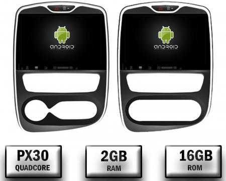 NAVIGATIE Renault Clio, ANDROID 9, Quadcore PX30 / 2GB RAM + 16GB ROM, 7 Inch - AD-BGWCLIOP30