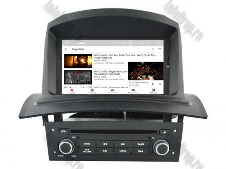 NAVIGATIE Megane 2, ANDROID 9, Quadcore|PX30|/ 2GB RAM + 16GB ROM cu DVD, 7 Inch - AD-BGWMG2HP310