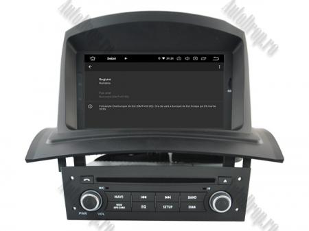 NAVIGATIE Megane 2, ANDROID 9, Quadcore|PX30|/ 2GB RAM + 16GB ROM cu DVD, 7 Inch - AD-BGWMG2HP315