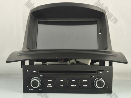 NAVIGATIE Megane 2, ANDROID 9, Quadcore|PX30|/ 2GB RAM + 16GB ROM cu DVD, 7 Inch - AD-BGWMG2HP317