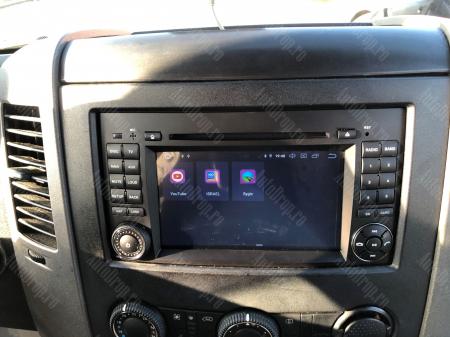 Navigatie Mercedes Benz/VW A/B-Class Vito Viano Sprinter Crafter, Android 10, QUADCORE|PX30|/ 2GB RAM + 16GB ROM cu DVD, 7 Inch - AD-BGWMBSPR7P321