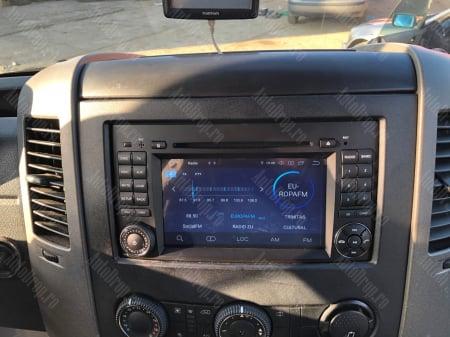 Navigatie Mercedes Benz/VW A/B-Class Vito Viano Sprinter Crafter, Android 10, QUADCORE|PX30|/ 2GB RAM + 16GB ROM cu DVD, 7 Inch - AD-BGWMBSPR7P320