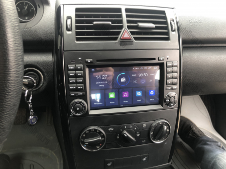 Navigatie Mercedes Benz/VW A/B-Class Vito Viano Sprinter Crafter, Android 10, Octacore|PX5|/ 4GB RAM + 64GB ROM cu DVD, 7 Inch - AD-BGWMBSPR7P524